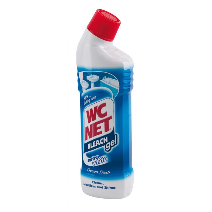 WC NET BLEACH GEL 750ml SVEŽINA OCEANA